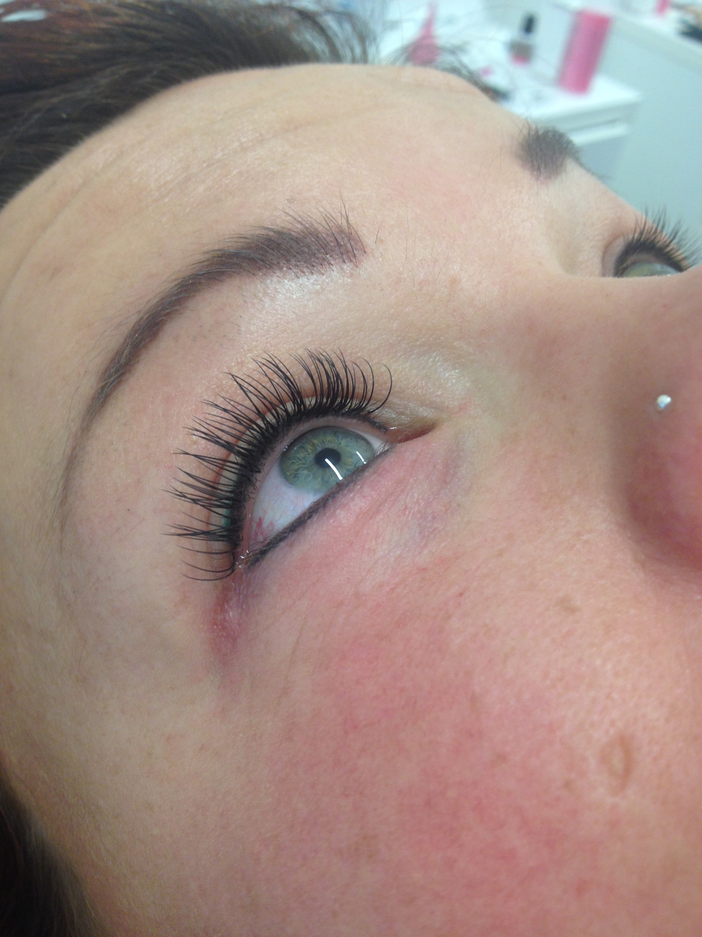 Eyeliner boven & onder + wimperextensions