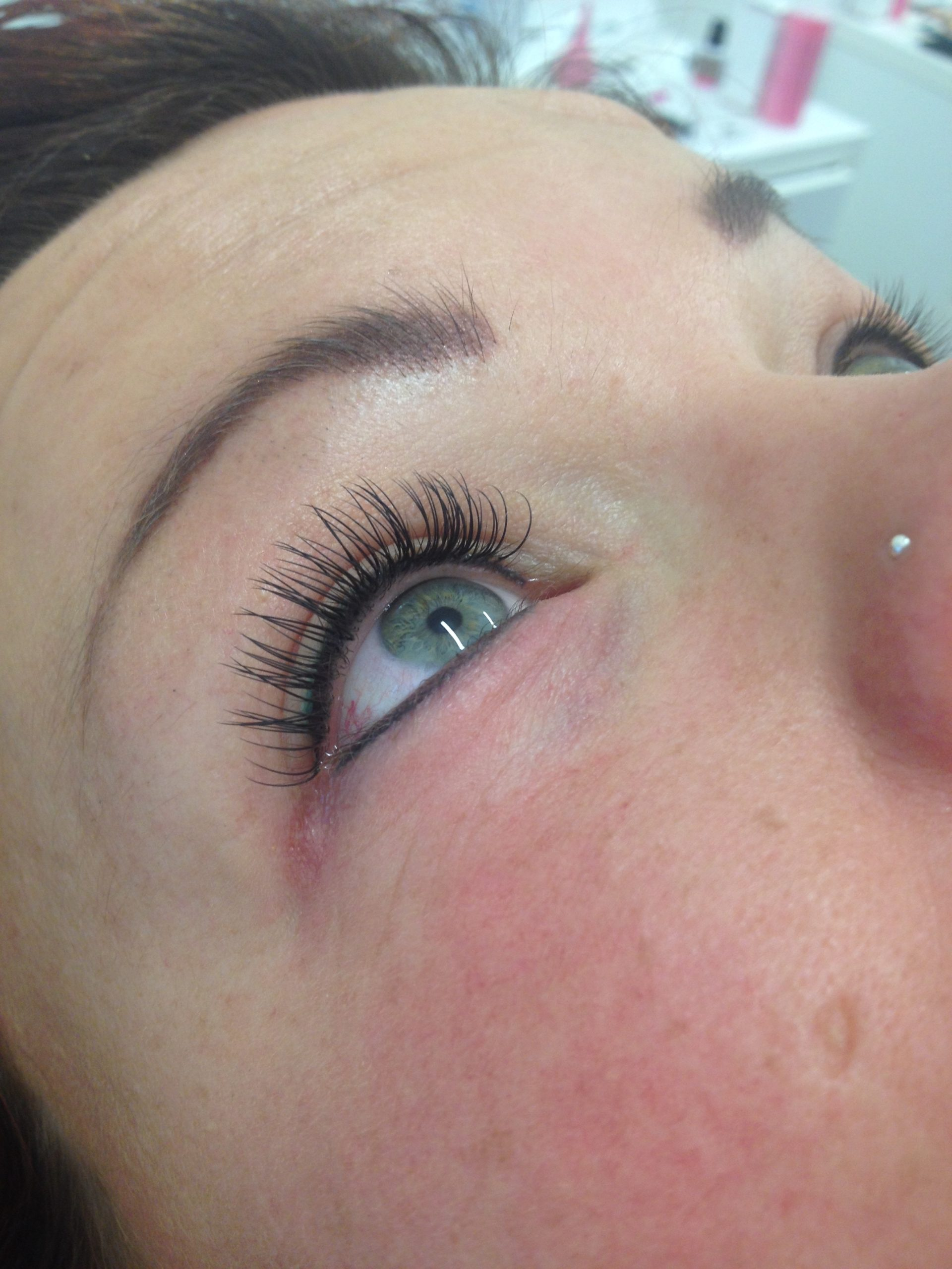 wimperextensions + Eyeliners boven & onder